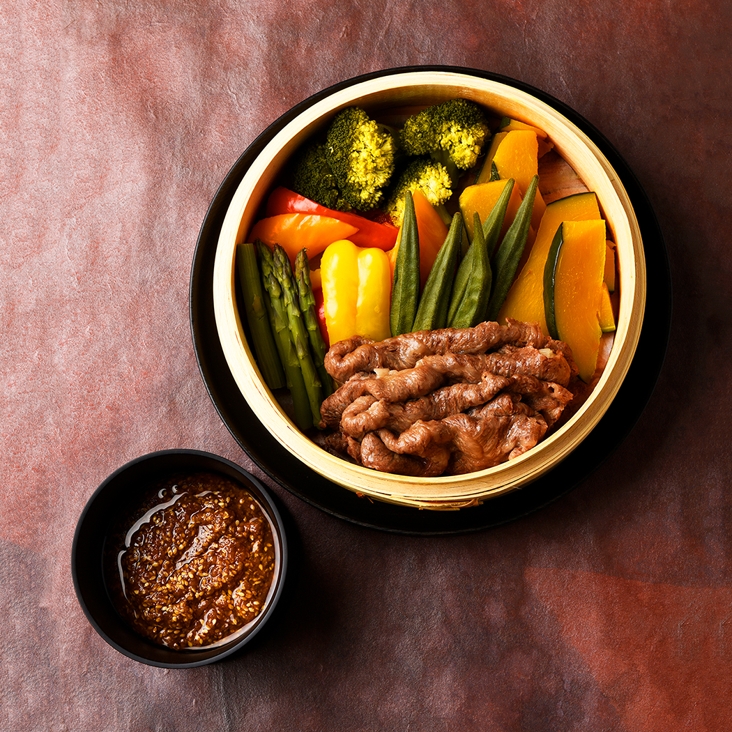 Steamed Beef & Vegetables