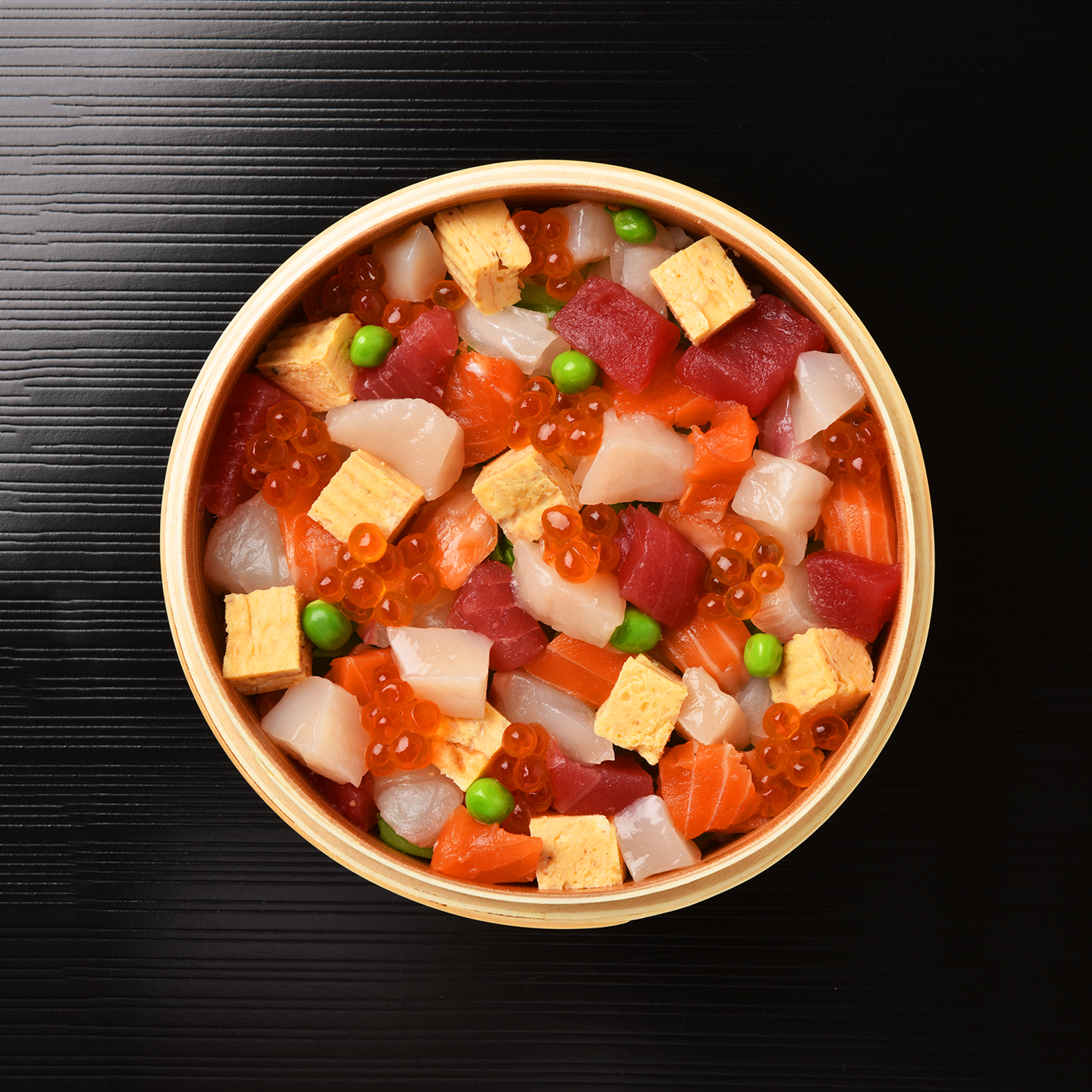 Bara-zushi Bento