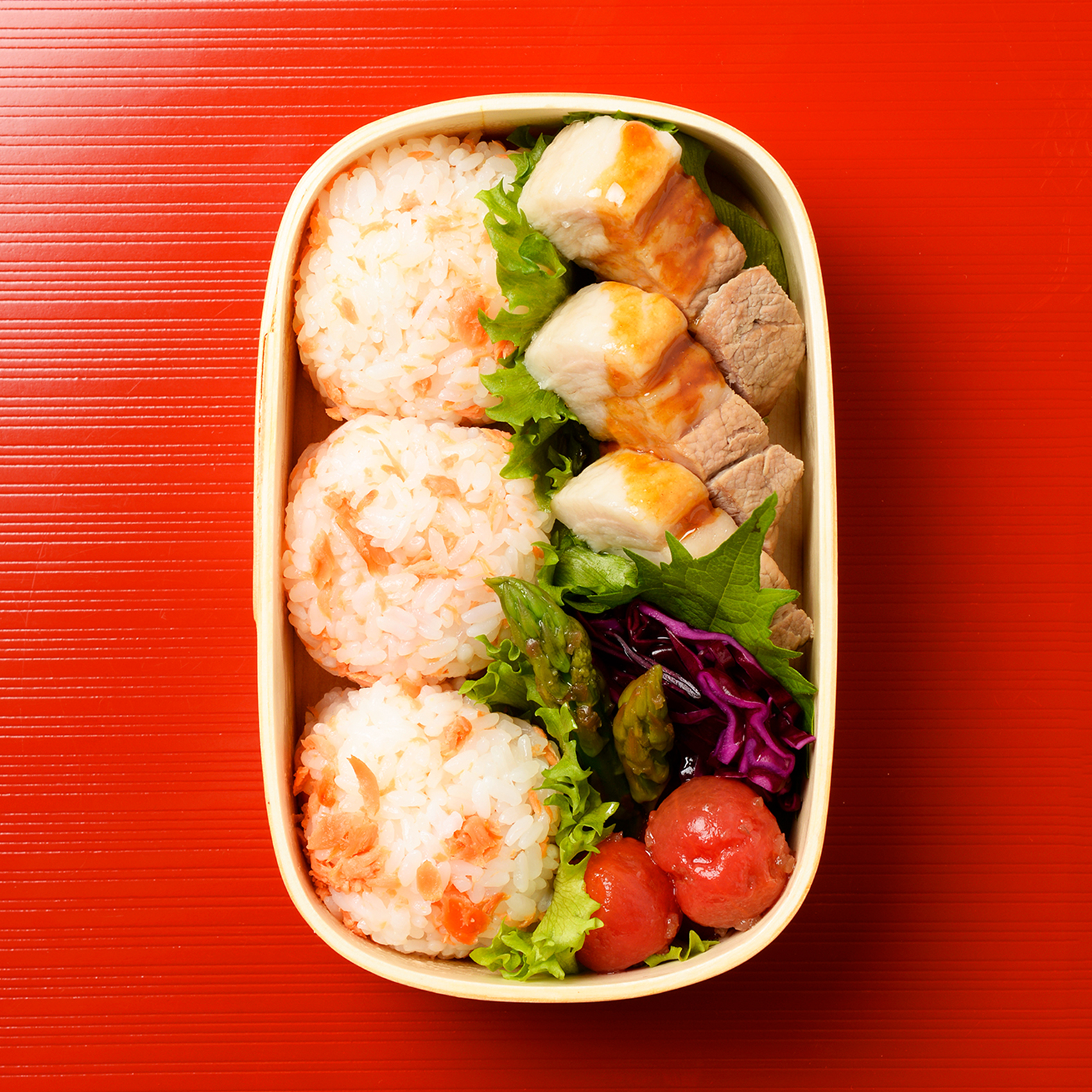 Boiled Sweet & Sour Pork Bento